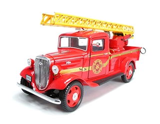 1935 Chevrolet Fire Truck (1:24), Unique Replicas Item Number 18628