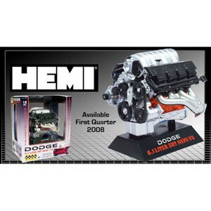 Dodge Hemi 6.1 Srt 1:6 B/U, lindberg Item Number lin11070