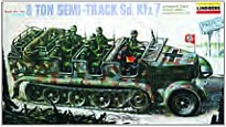 1/40 German SdKfz7 8-Ton Halftrack 1:40, lindberg Item Number lin416