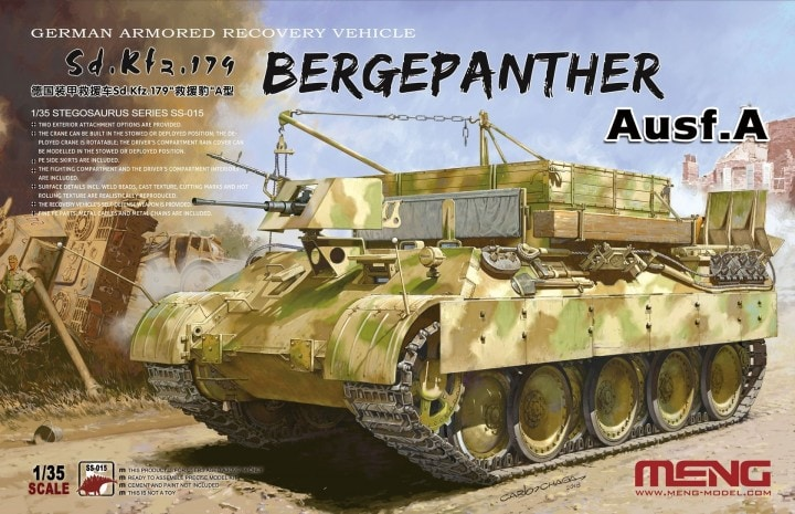 Ger. Armored Rec. Veh. 1:35 by Meng Models item number: MGMSS015