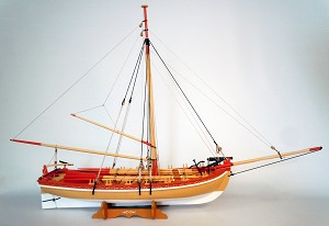 18th Century Armed Longboat by Model Shipways Item Number MOD1460