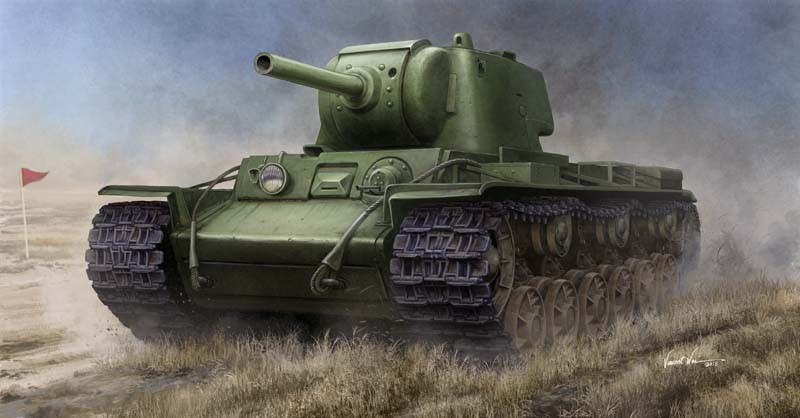 Russian KV-9 Heavy Tank 1:35 by Trumpeter