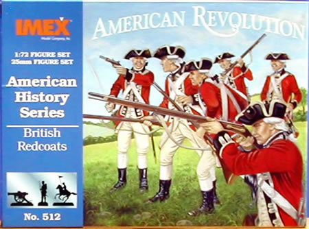 British Redcoats (1:72), IMEX Item Number IMX512
