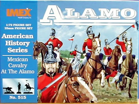 Mexican Cavalry Alamo (1:72), IMEX Item Number IMX515