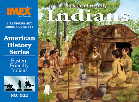 Eastern Friendly Indians (1:72), IMEX Item Number IMX522