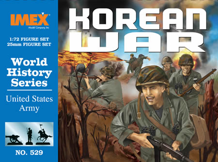 Us Army Korean War (1:72), IMEX Item Number IMX529