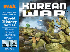 Chinese Army Korean War (1:72), IMEX Item Number IMX531