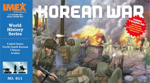 Korean War Set (1:72), IMEX Item Number IMX611