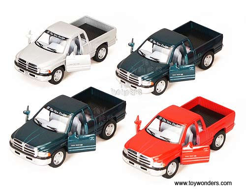 Dodge Ram Pick-Up (1:44 scale diecast model car, Assorted Colors.)