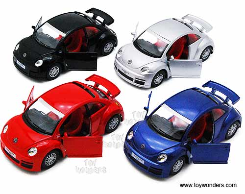 Volkswagen New Beetle RSi Hard Top (1:32 scale diecast model car, Assorted Colors.)