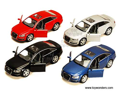 Audi A6 Hard Top (1:38 scale diecast model car, Assorted Colors.), Kinsmart Item Number 5303D