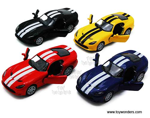 Dodge SRT Viper GTS Hard Top (2013, 1:36 scale diecast model car, Assorted Colors.)