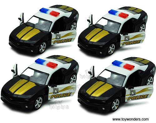 Chevy Camaro Police (2010, 1:32 scale diecast model car, Black) , RMZ City Item Number 555005P