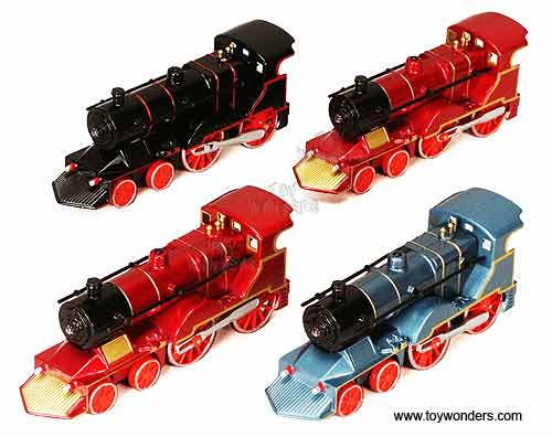 "Classic Trains with Sound and Light (5.5"", Assorted Colors.)"