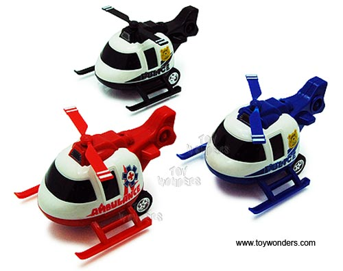 "Helicopter (4.75"", Assorted Colors.)"