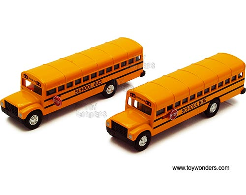 "City School Bus (6.25"", Yellow),  Item Number 9833D"