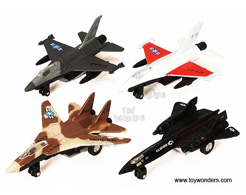 "Airplanes (4.75"" - 5.25"", Assorted Colors.) - sold individually, Super Flighters Item Number 9860D"