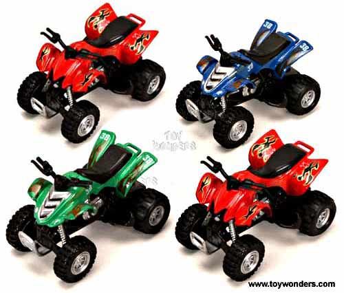"Sport ATV (4.25"", Assorted Colors.),  Item Number 9907/8D"