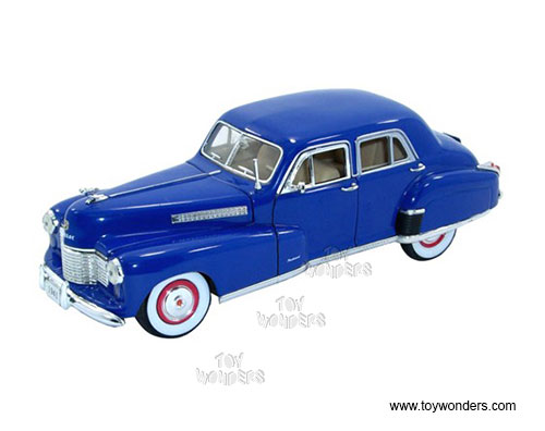 Cadillac Series 60 Special (1941, 1:32 scale diecast model car, Blue), Signature Models Item Number 32357BU