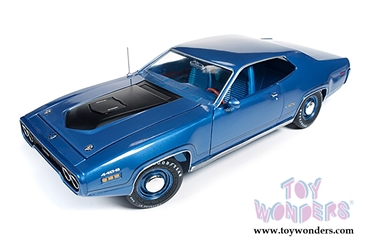 1971 Plymouth GTX Hard Top Blumet, Auto World Item Number AUT1065