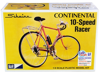 Skill 2 Model Kit Schwinn Continental 10-Speed Bicycle 1/8