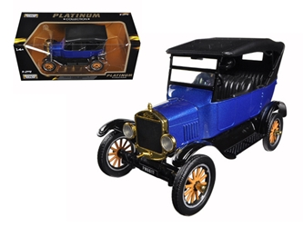 1925 Ford Model T Touring Blue (1:24), Motormax Item Number MMX79319