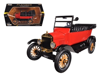 1925 Ford Model T Touring Red (1:24), Motormax Item Number MMX79328R