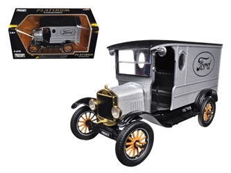 1925 Ford Model T Paddy Wagon Silver (1:24), Motormax Item Number MMX79329
