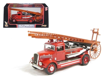 1938 Dennis Light Four Fire Engine Red (1:43), Road Signature Item Number ROS43011R
