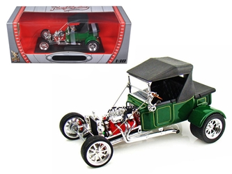 1923 Ford T-Bucket Soft Top Green 1/18