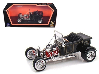 1923 Ford T-Bucket Roadster Black (1:18), Road Signature Item Number ROS92828BK