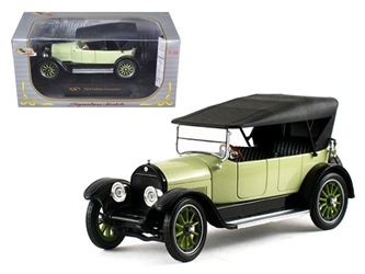 1919 Cadillac Type 57 Soft Top Lime (1:32), Signature Models Item Number 32363LM