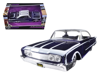 "1960 Ford Starliner Purple ""Outlaws"" (1:26), Maisto Item Number MST31038PURP"
