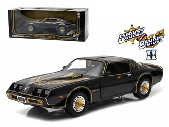 "1980 Pontiac Trans Am Turbo 4.9L ""Smokey And The Bandit 2"" Movie Car 1/18 Diecast Model by Greenlight, Greenlight Item Number GLC12829-12944"