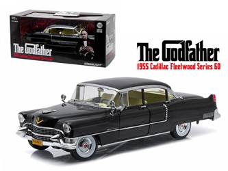 "1955 Cadillac Fleetwood Series 60 Special ""The Godfather"" Movie (1972) 1/18 Diecast Model Car by Greenlight, Greenlight Item Number GLC12949"