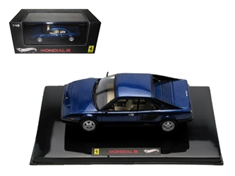 Ferrari Mondial 8 Blue Elite Edition Limited Edition 1 of 5000 Produced Worldwide 1/43 Diecast Model Car by Hotwheels, Hot wheels Item Number V8373