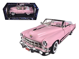 1949 Elvis Presley Pink Cadillac Coupe Deville 1/18 Diecast Car Model by Motorcity Classics, Motorcity Classics Item Number 48887EP