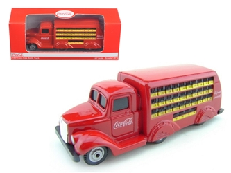 Coca-Cola - 1937 Bottle Truck in Red (1:87), Motorcity Classics Item Number 424132