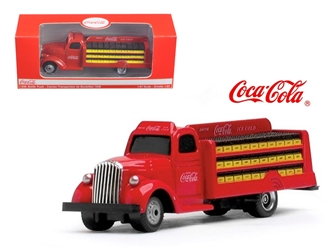 1938 Coca Cola Delivery Bottle Truck 1:87 HO Scale, Motorcity Classics Item Number 424133