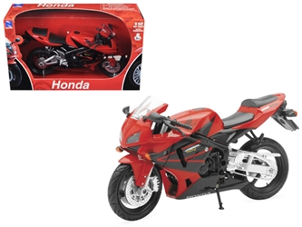 2006 Honda CBR600R Red 1/12 by New Ray