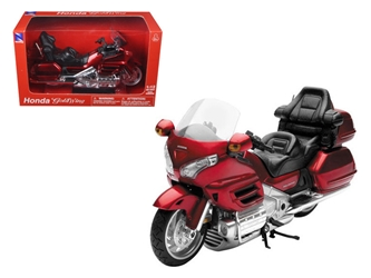 2010 Honda Gold Wing Burgundy 1/12