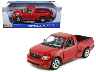 Ford F-150 SVT Lightning Red  Diecast Car Model 1/21 by Maisto, Maisto Item Number MST31141RD