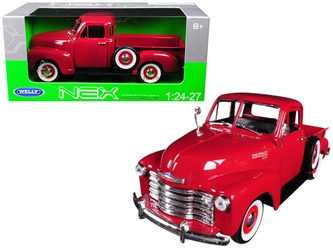 1953 Chevrolet 3100 Pickup Truck Red 1/24-1/27