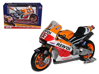 2014 Repsol Honda #93 RC2 13V Marc Marquez Motorcycle Model (1:10), Maisto Item Number MST31406MA