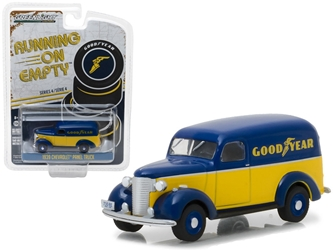 "1939 Chevrolet Panel Truck Goodyear Tires ""Running on Empty"" Series 4 1/64"