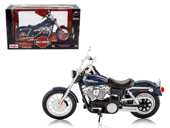 2006 Harley Davidson FXDBI Dyna Street Bob Bike Motorcycle Model 1/12 by Maisto, Maisto Item Number MST32325