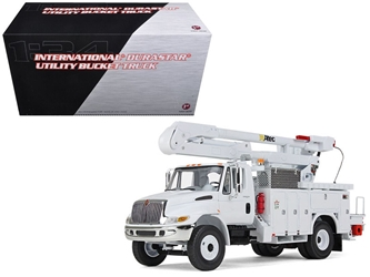 International Durastar Utility Bucket Truck 1/34 Diecast Model by First Gear