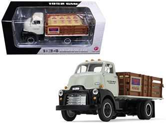 1952 GMC COE Stake Truck with Sack Load K & B Potato Farms Inc. 1/34 Diecast Model by First Gear, First Gear Item Number 19-4110