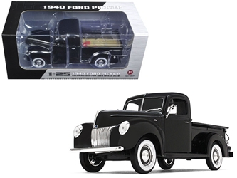 1940 Ford Pickup Truck Black 1/25 Diecast Model Car by First Gear, First Gear Item Number 49-0393