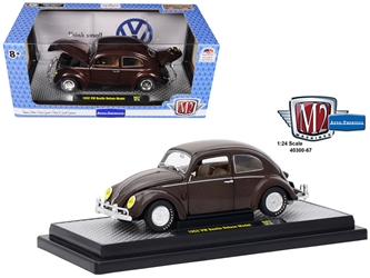 1952 Volkswagen Beetle Deluxe Model Pearl Brown Limited Edition to 5,800 pieces Worldwide 1/24 Diecast Model Car by M2 Machines, M2 Item Number 40300-67B